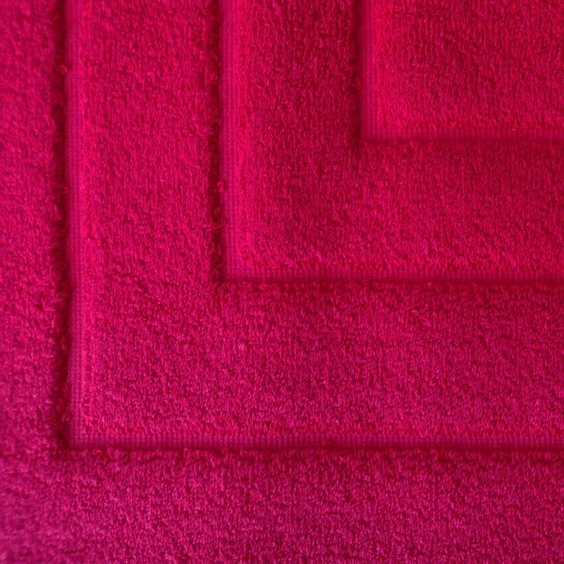Tappeto da Bagno Medio Rosso - Lo Scampolaio