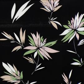 Poliestere Dark Flowers