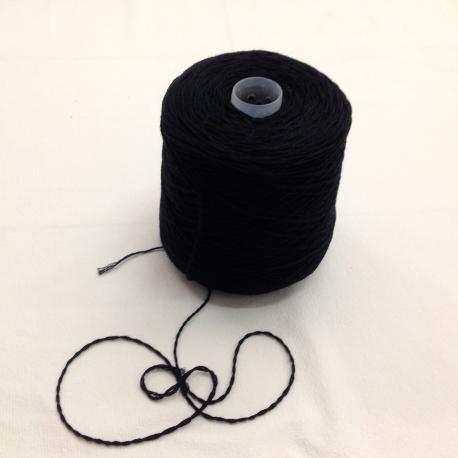 Rocca lana nera 750 gr