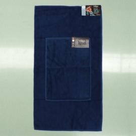 Coppia Asciugamani Blu