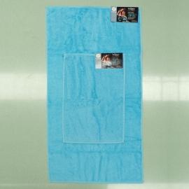 Coppia Asciugamani Azzurro