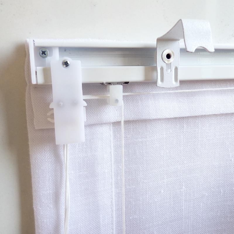 Tende a pacchetto steccato a vetro per finestra - Lo Scampolaio